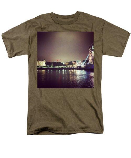 Nighttime In London Men's T-Shirt  (Regular Fit) by Nancy Ann Healy