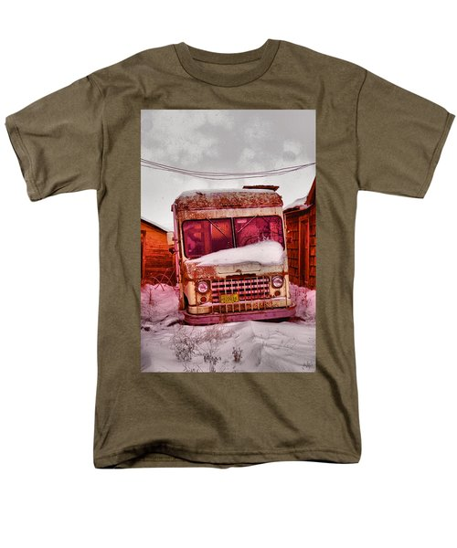 Men's T-Shirt  (Regular Fit) featuring the photograph No More Deliveries by Jeff Swan