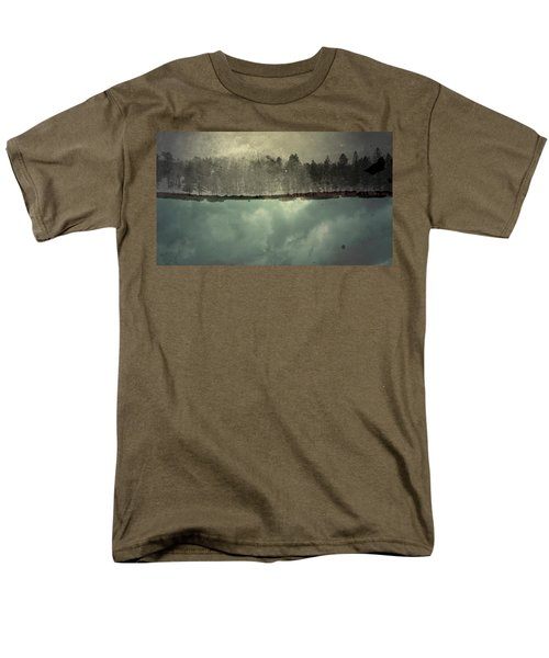 No One Ever Leaves  Men's T-Shirt  (Regular Fit)