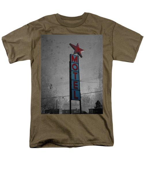 No Tell Motel Men's T-Shirt  (Regular Fit) by Jerry Cordeiro