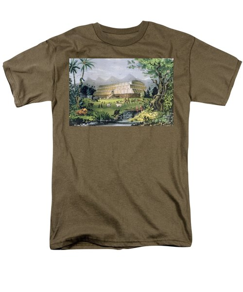 Noahs Ark Men's T-Shirt  (Regular Fit) by Currier and Ives