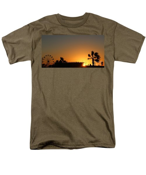 North Beach Sunset Men's T-Shirt  (Regular Fit) by Thomas OGrady