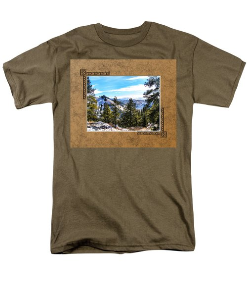 Men's T-Shirt  (Regular Fit) featuring the photograph North View by Susan Kinney