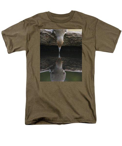 Northern Flicker Men's T-Shirt  (Regular Fit) by Doug Herr