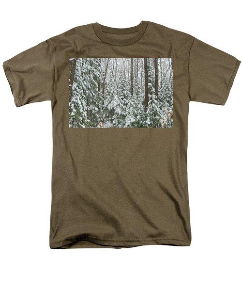 Northern Winter Men's T-Shirt  (Regular Fit) by Michael Peychich