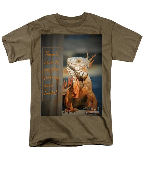 Men's T-Shirt  (Regular Fit) featuring the photograph Not Just About The Looks by Pamela Blizzard