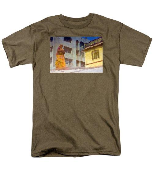 Men's T-Shirt  (Regular Fit) featuring the photograph Not Sure by Prakash Ghai