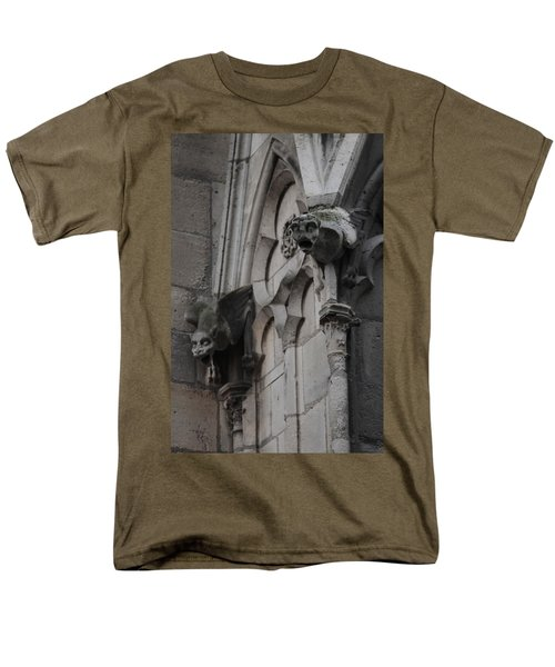 Notre Dame Grotesques Men's T-Shirt  (Regular Fit) by Christopher Kirby