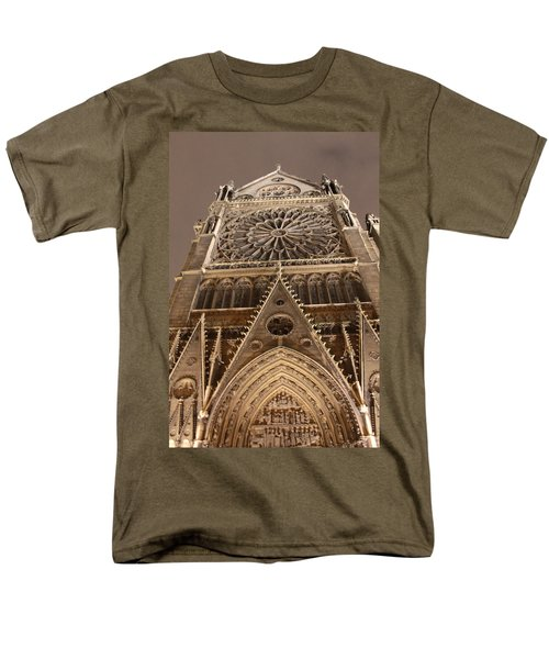 Men's T-Shirt  (Regular Fit) featuring the photograph Notre Dame North by Christopher Kirby
