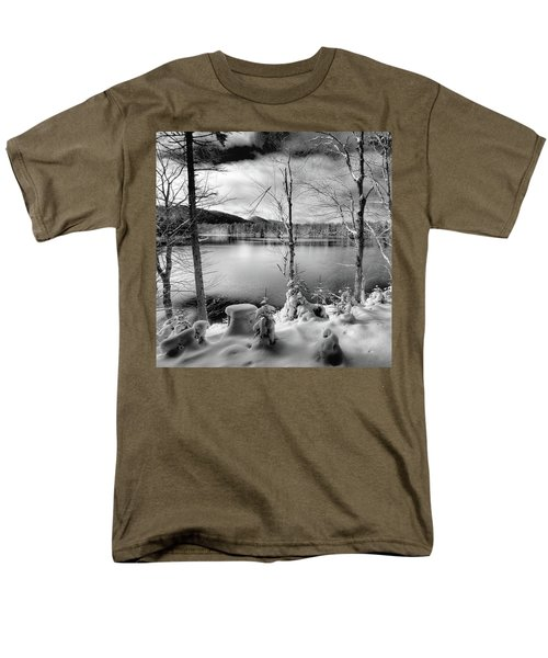 November On West Lake Men's T-Shirt  (Regular Fit) by David Patterson