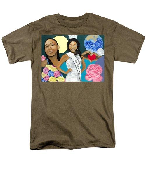 Nubian Princess Men's T-Shirt  (Regular Fit) by Angelo Thomas