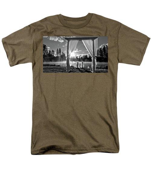 Nuptials Men's T-Shirt  (Regular Fit) by Julia Hassett