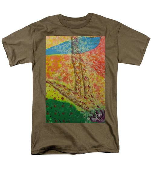 Nurture Men's T-Shirt  (Regular Fit) by Mini Arora