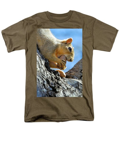 Men's T-Shirt  (Regular Fit) featuring the photograph Nutjob by Debbie Karnes