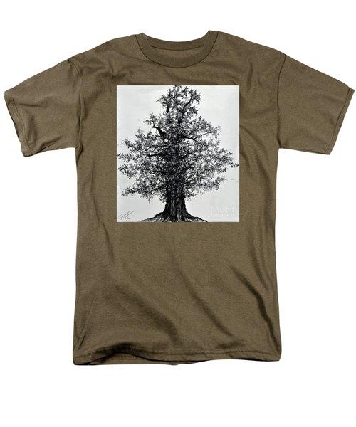 Oak Tree Men's T-Shirt  (Regular Fit) by Maja Sokolowska