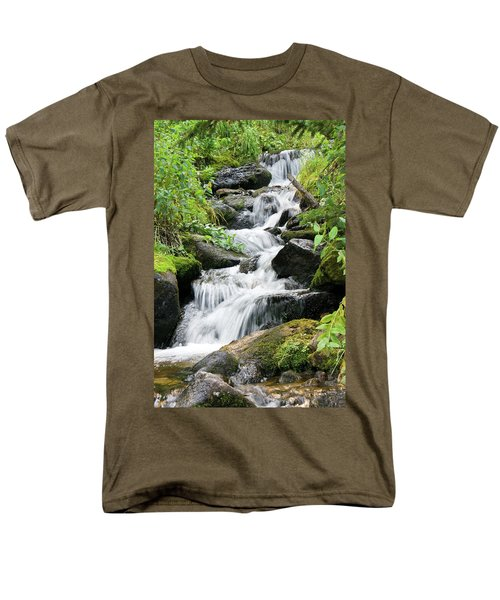 Oasis Cascade Men's T-Shirt  (Regular Fit) by David Chandler
