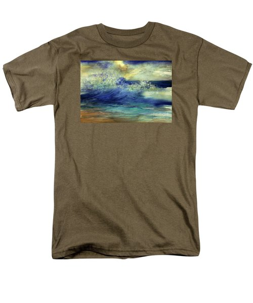 Men's T-Shirt  (Regular Fit) featuring the painting Ocean by Allison Ashton