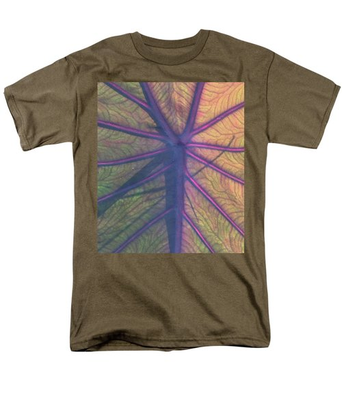 Men's T-Shirt  (Regular Fit) featuring the photograph October Leaf by Peg Toliver