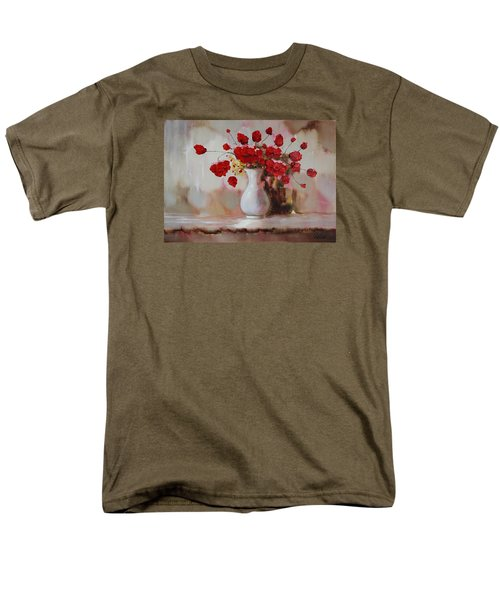 Oil Msc 009 Men's T-Shirt  (Regular Fit) by Mario Sergio Calzi
