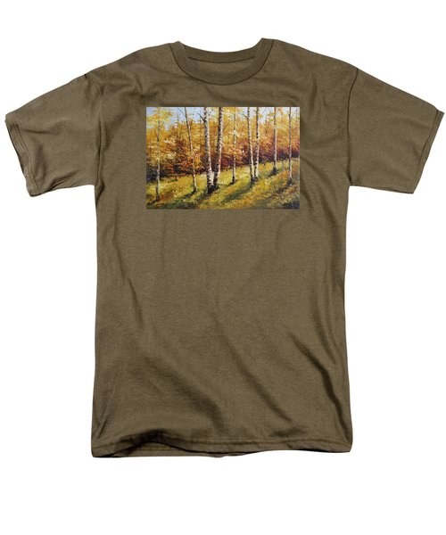 Oil Msc 028 Men's T-Shirt  (Regular Fit) by Mario Sergio Calzi