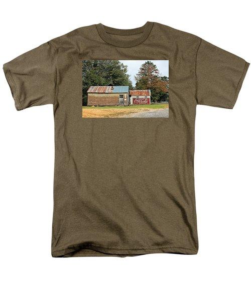 Old Buildings At Burnt Corn Men's T-Shirt  (Regular Fit) by Lynn Jordan