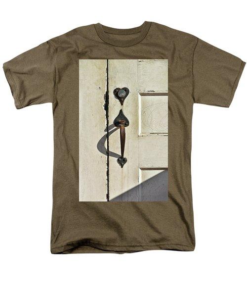 Old Door Knob 3 Men's T-Shirt  (Regular Fit) by Joanne Coyle