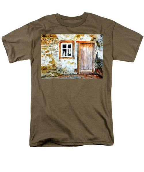 Old Farm House Men's T-Shirt  (Regular Fit) by Sher Nasser