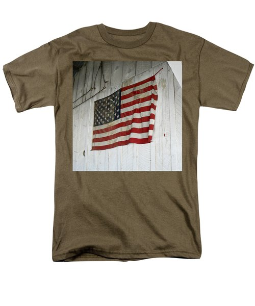 Old Glory Men's T-Shirt  (Regular Fit) by Laurel Powell