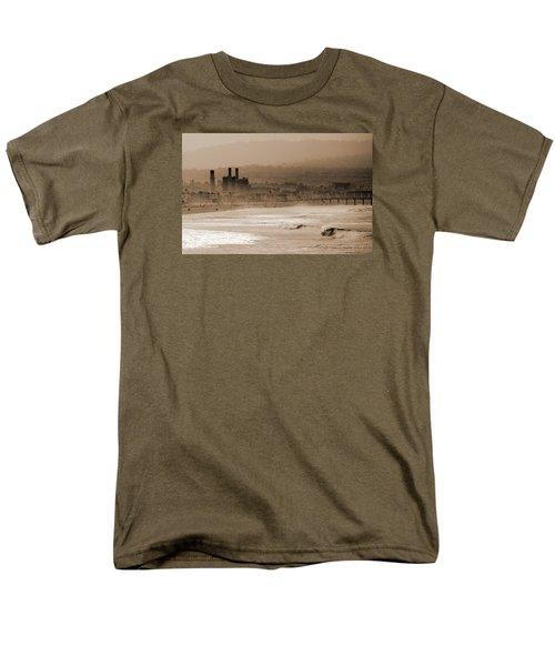 Old Hermosa Beach Men's T-Shirt  (Regular Fit) by Ed Clark