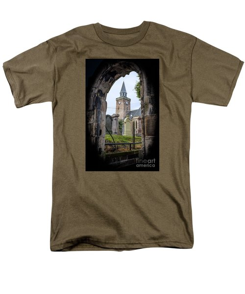 Old High St. Stephen's Church Men's T-Shirt  (Regular Fit) by Amy Fearn