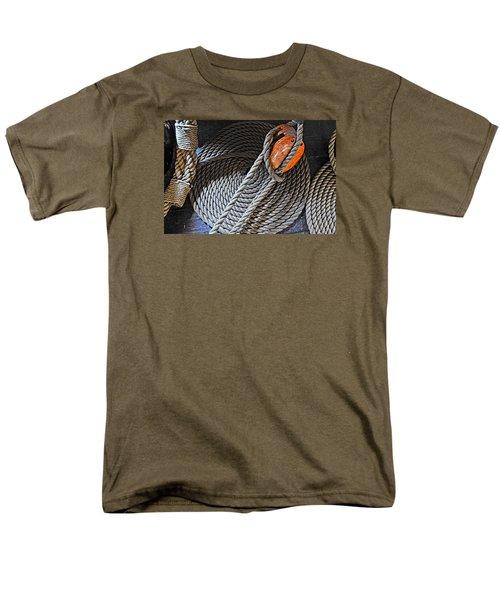 Old Ironsides Rope Men's T-Shirt  (Regular Fit)