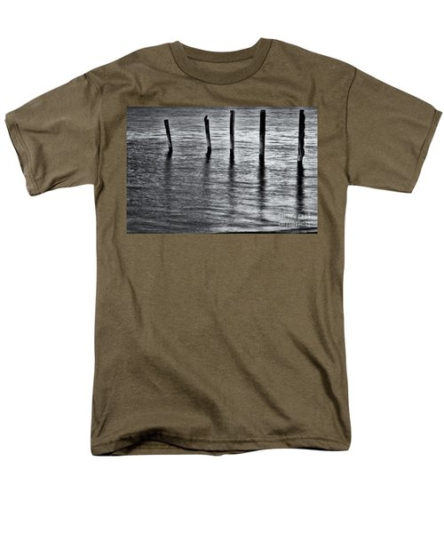 Men's T-Shirt  (Regular Fit) featuring the photograph Old Jetty - S by Werner Padarin