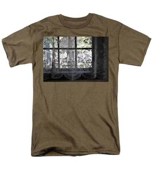 Old Lace And Old Times Men's T-Shirt  (Regular Fit) by John Glass
