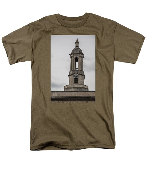 Old Main From Front Clock Men's T-Shirt  (Regular Fit) by John McGraw