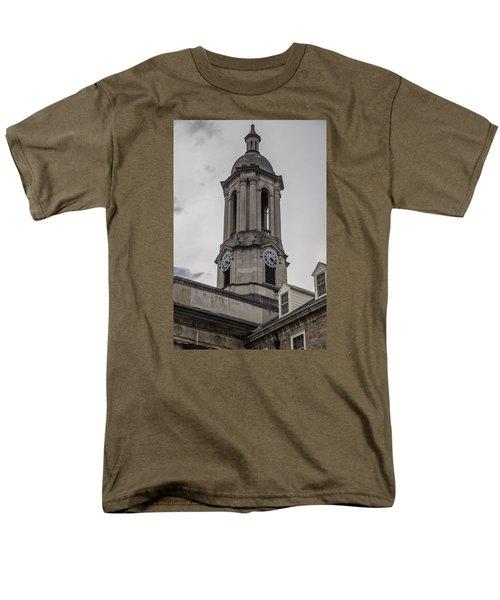 Old Main Penn State Clock  Men's T-Shirt  (Regular Fit) by John McGraw