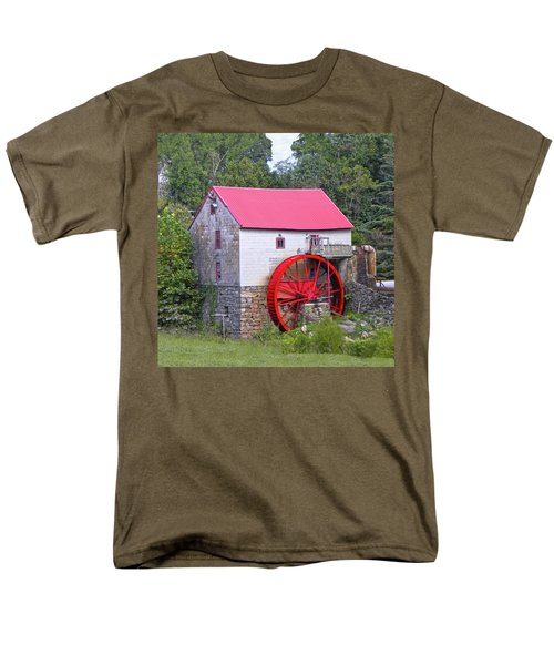 Old Mill Of Guilford Squared Men's T-Shirt  (Regular Fit) by Sandi OReilly
