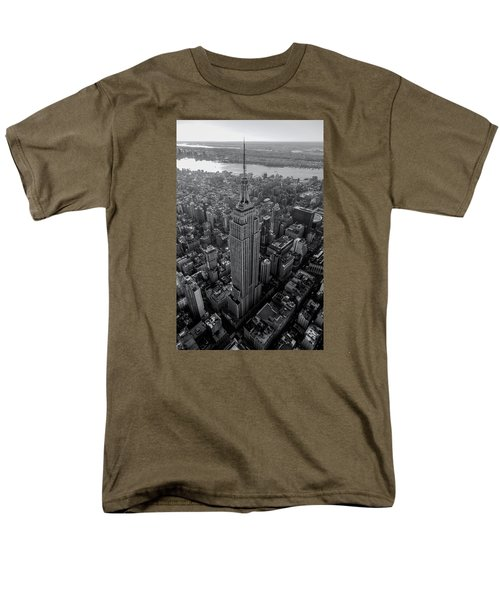 Old New New York  Men's T-Shirt  (Regular Fit) by Anthony Fields