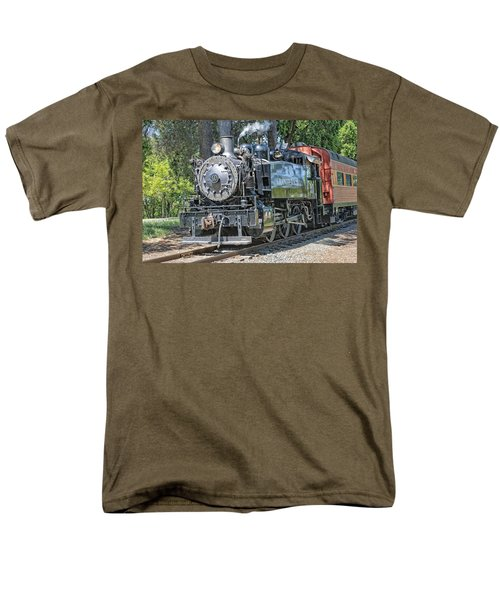 Old Number 10 Men's T-Shirt  (Regular Fit) by Jim Thompson