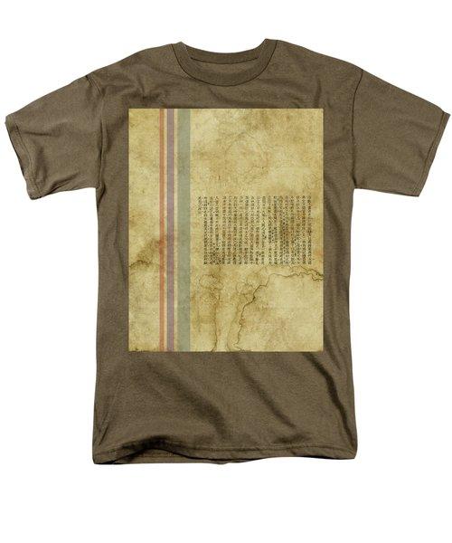 Old Paper Men's T-Shirt  (Regular Fit) by Thomas M Pikolin