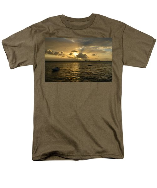 Men's T-Shirt  (Regular Fit) featuring the photograph Old San Juan 3772 by Ricardo J Ruiz de Porras