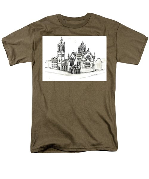 Old South Church - Bosotn Men's T-Shirt  (Regular Fit) by Paul Meinerth