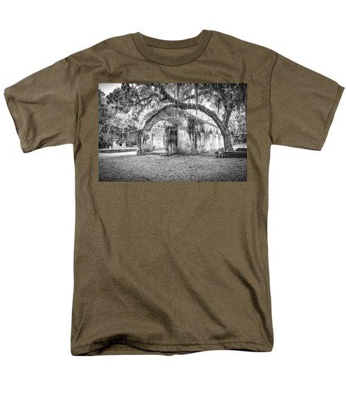 Old Tabby Church Men's T-Shirt  (Regular Fit)