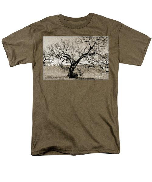 Old Texas Frontier  Men's T-Shirt  (Regular Fit) by Ray Shrewsberry