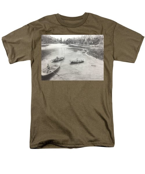 Old Time Camp Days Men's T-Shirt  (Regular Fit) by Mary Lynne Powers