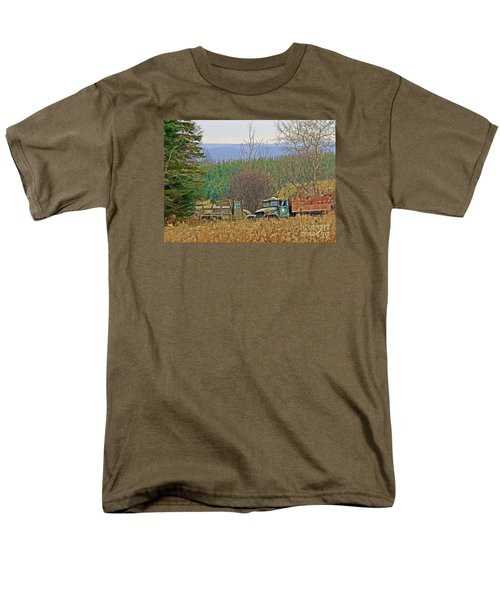 Men's T-Shirt  (Regular Fit) featuring the photograph Old Warriors by Christian Mattison