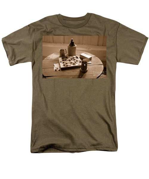 Old Way Of Life Series - Past Time Men's T-Shirt  (Regular Fit) by Joe  Ng