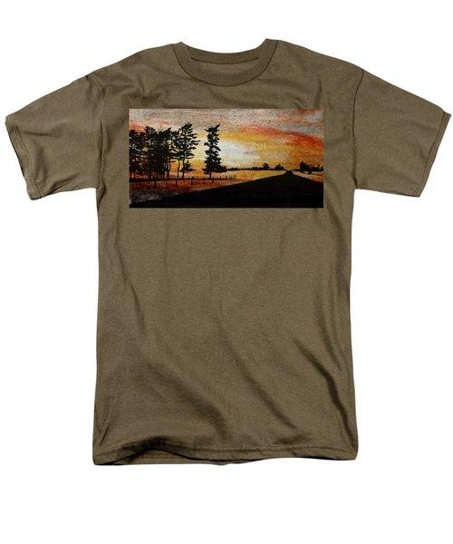 Old Windbreak Men's T-Shirt  (Regular Fit) by R Kyllo