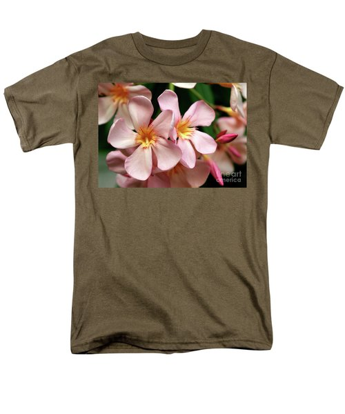 Men's T-Shirt  (Regular Fit) featuring the photograph Oleander Dr. Ragioneri 2 by Wilhelm Hufnagl