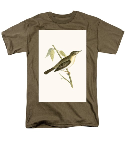 Olivaceous Warbler Men's T-Shirt  (Regular Fit) by English School