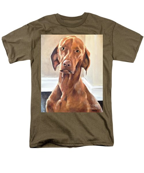 Men's T-Shirt  (Regular Fit) featuring the painting Oliver by Diane Daigle